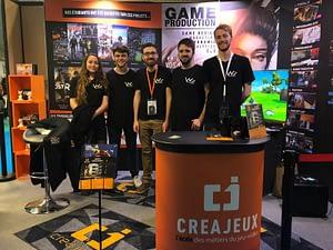 Creajeux - Ecole de jeu vidéo